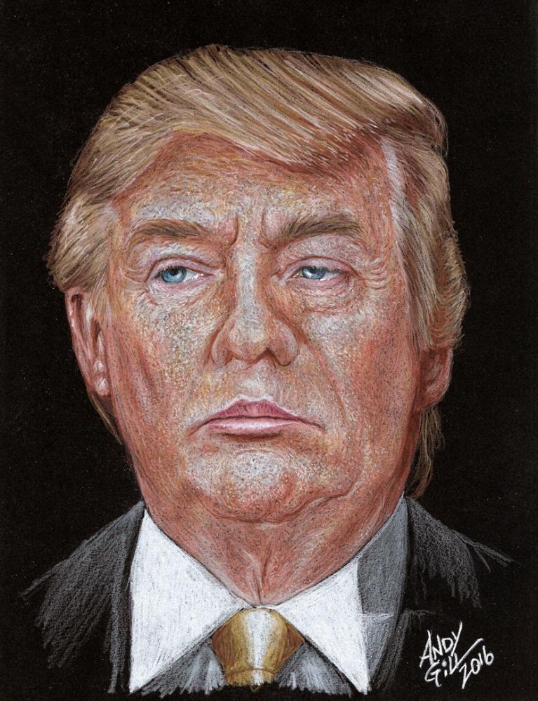 Donald Trump por AndyGill